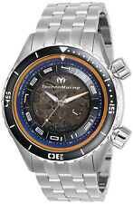 TechnoMarine Men's Manta TM-218011 47mm Blue Dial Stainless Steel Watch