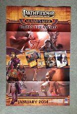 Pathfinder RPG Adventure Path Mummy's Mask Mum's the World TCG Promo Poster