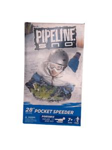 Pipeline Sno Blue Air Penguin Snow Tube 28 Inch 1 Riders Pocket Speeder Age 7Y