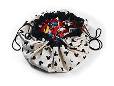 Play & Go Tappeto e Sacco portagiochi Disney Mickey Black Pg029
