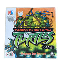 MB Games - Hasbro - Teenage Mutant Ninja Turtles TMNT Board Game - 2003 Complete