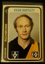1979 Football Scanlens Richmond Tigers Kevin Bartlett Excellent condition 124