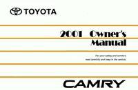 Bishko OEM Maintenance Owner's Manual Bound for Toyota Camry 2001