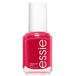essie nail polish haute in the heat raspberry red nail polish 0.46 fl oz