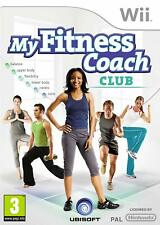 My Fitness Coach Club incl. Camera for Nintendo Wii Ubisoft, Move your Body New