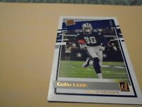 2020 DONRUSS CEEDEE LAMB RATED ROOKIE GOLD LETTERED PREVIEW #306 RC  - RARE!