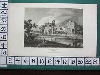 1813 Fecha Antigüedad Yorkshire Estampado ~ Wressle Castillo ~ Como Se Appeared