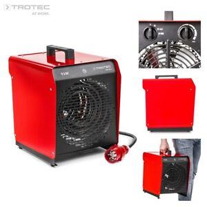 TROTEC TDS 50 E Elektroheizer Heizgerät Heizlüfter Bauheizer Zeltheizung 9 kW