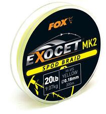 FOX Exocet spod MK2 BRAID / una lenza intrecciata-Giallo