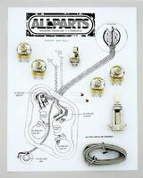 Allparts EP-4140-000 Wiring Kit for Les Paul - Made in USA