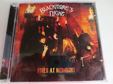 BLACKMORE'S NIGHT ~ FIRES AT MIDNIGHT ~ 2001 LIKE NEW CD