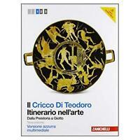 CRICCO DI TEODORO, ITINERARIO NELL'ARTE 1° AZZURRA, ZANICHELLI 9788808191540
