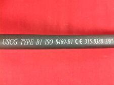 """FUEL HOSE 3/8"""" B1 MPI MARINE PRODUCTS GAS LINE OUTBOARD J1527 USCG 315-0380"""