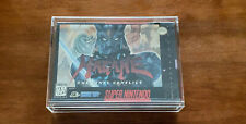 Hagane: The Final Conflict -Complete In Box 100% Authentic (Super Nintendo SNES)