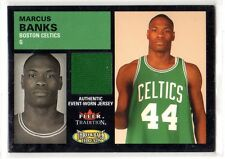 1X MARCUS BANKS 2003 04 Fleer Tradition #TT-MB ROOKIE THROWBACKS JERSEY RELIC
