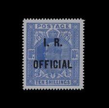 ***REPLICA*** of 1902 Great Britain Edward VII , 10s ultramarine SG O26