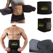 Men Women Shapewear Sweat Waist Cincher Trainer Body Shaper Neoprene Hot Belt HS