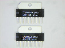 "TA8410K  ""Original"" Toshiba  10P SIP IC  2 pcs"
