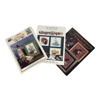 Lot 3 Cats Counted Cross X Stitch Patterns Kittens Leaflets Embroidery Charts