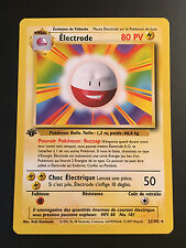 Carte Pokemon ELECTRODE 21/102 Rare Set de Base Wizard Française Edition 1 NEUF