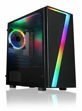 ULTRA FAST I3 COMPUTER PC RGB @3.00Ghz Tower 8GB RAM 1TB HDD & Win 10 WIFI