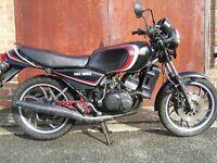 Yamaha RD350lc project - garage find, restoration