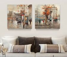 Canvas Art Modern Oil Painting Europe Wall Art Picture Unframed Paint Home Decor