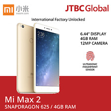 New Xiaomi MI Max 2 6.44 Inch 4G LTE Dual Sim 64GB Factory Unlocked Phone