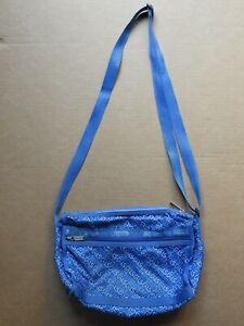 LE SPORTSAC WOMEN'S BLUE FABRIC HANDBAG