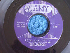The Rondels/Back Beat No. 1-Shades of Green/1961 Original/Amy 825/VG+ to EX