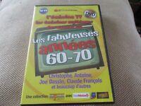 Dvd EMISSIONS MYTHIQUES ANNEES 60 Christophe Antoine Joe DASSIN Claude FRANCOIS