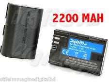 BATTERY LP-E6 FOR CANON EOS 70 D 6 d 5 d MARK III 3 MK 2 7 d 60 d Italy 2200