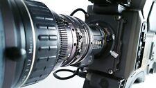 Sony Nikon Hitachi pro video camera package Betacam SP BTS-5 powerful lens