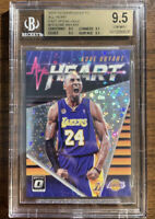 2018-19 Donruss Optic Fast Break Holo All Heart Kobe Bryant Lakers BGS 9.5