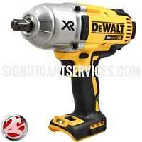 "DeWALT DCF899B XR 20V MAX Brushless High Torque Impact Wrench 1/2"" Detent Pin"