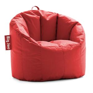 Big Joe Milano Bean Bag Chair, Black SmartMax