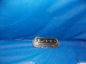 1970 NOS Ford LTD Trunk Lock Cover Ornament Galaxie 351 390 429