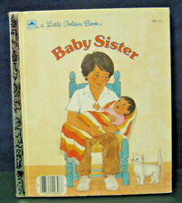 """Golden Book """"BABY SISTER"""" - 1986 (INSTANT 20% OFF)"""