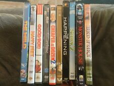 LOT OF10 PRE-OWNED DVD CASES WITH ARTWORK