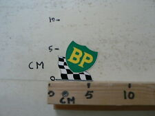 STICKER,DECAL BP LOGO FINISH FLAG OIL GAS BENZINE AAAA