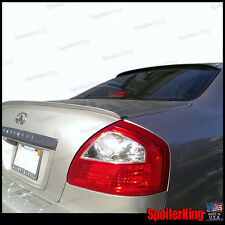 COMBO Spoilers (Fits: Infiniti Q45 2002-06) Rear Roof Wing & Trunk Lip