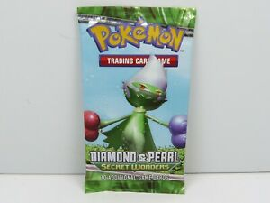 POKEMON booster pack scellé Diamond & Pearl Secret Wonders english 10 Game Cards