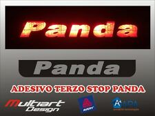 ADESIVO STICKERS PER TERZO STOP FIAT  PANDA , PANDA 4X4, PANDA CROSS