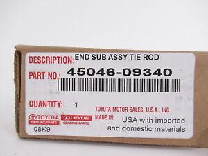Genuine OEM Toyota 45046-09340 Steering Tie Rod End 2005-2020 Tacoma