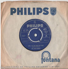 "Four Pennies - Until Its Time For You To Go 7"" Sgl 1965"