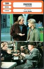 CRACKERS - Sutherland,Warden,Penn,Shawn,Malle (Fiche Cinéma) 1984