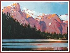 Late Afternoon-McCannell Lake by Robert Genn