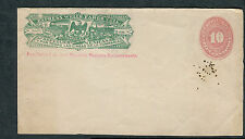 Cover - Wells Fargo - Unaddressed Express Mexico Front Only 10 Centavos
