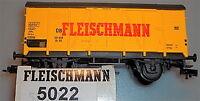 Fleischmann Wagon de Marchandises 5022 Emballage D'Origine Boîte en Carton Pack