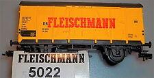 Fleischmann Vagón de mercancía 5022 emb.orig pappkarton Paquete Nuevo 1:87 H0